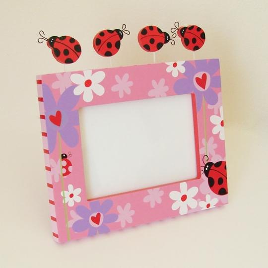 Ladybug Frame With Dancing Ladybugs Ladybug Gift Store Llc